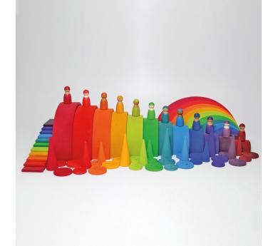 Amigos arco iris diversidad