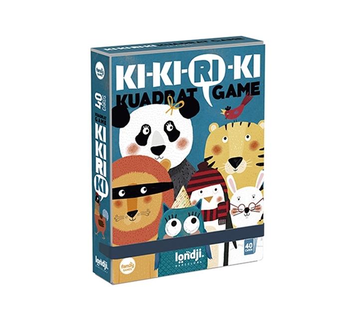 Joc de cartes per formar famílies Ki-ki-ri-ki