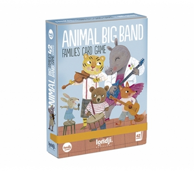 juego de cartas Animal Big Band