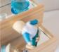 Escalera de construcción con espejos