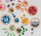 36 Piezas sueltas para Mandala Huevos