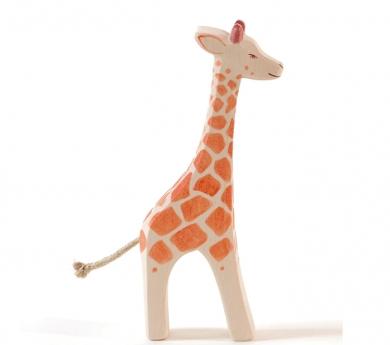 Figura de fusta Ostheimer - Girafa gran de peu