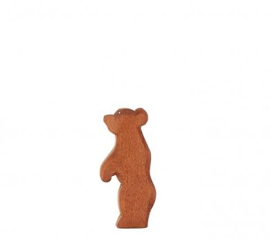 Figura de madera Ostheimer - Oso pequeño de pie