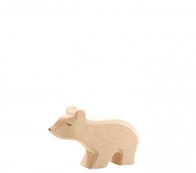 Figura de fusta Ostheimer - Ós polar petit