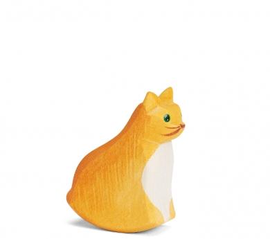 Figura de fusta Ostheimer - Gat assegut