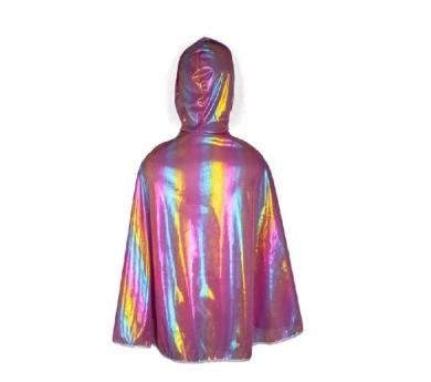 Disfraz de capa princesa/príncipe arcoíris