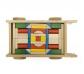 Carro de fusta amb blocs de construcció