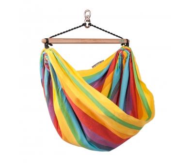 Cadira de balanceig rainbow