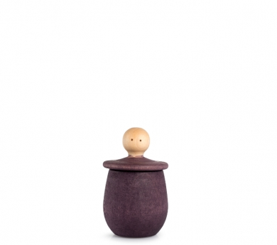 Cajita peonza Little Things - violeta