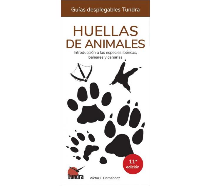 Cuaderno de la naturaleza. Huellas de animales