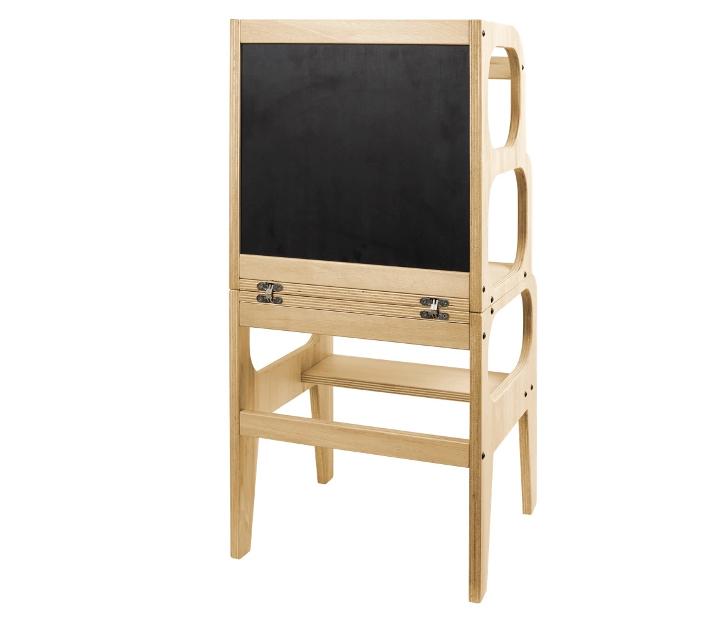 Torre Montessori d'aprenentatge 2 en 1