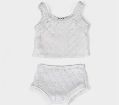 Conjunt de roba interior per nines/os de 32 cm.