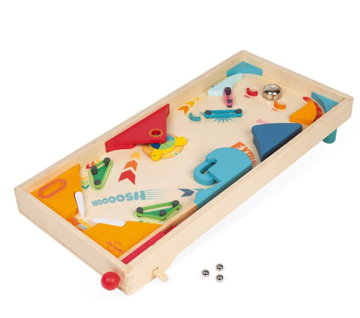 Pinball de madera