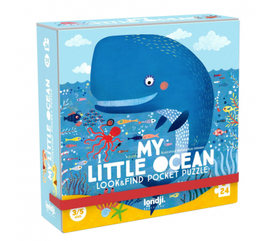 Puzle y juego de observación de viaje My Little ocean