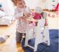 Trona de madera para muñecas y muñecos