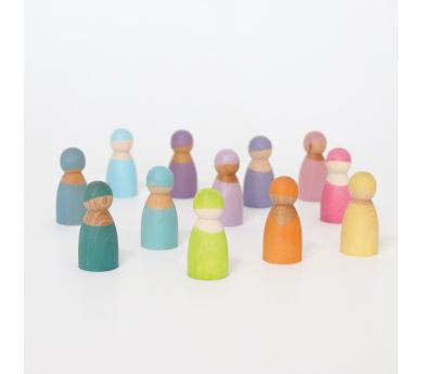 Grimm's. Amigos del arcoiris color pastel