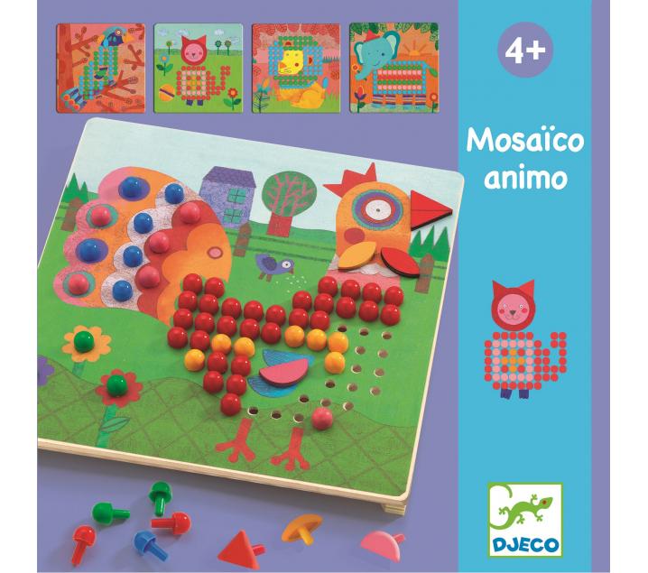 Mosaico matemático Animo
