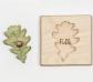 Encajes hojas individuales Castellano
