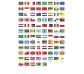 Banderas del mundo, gran poster con 200 pegatinas
