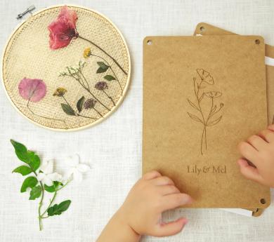 Kit per premsar flors i crear un bastidor