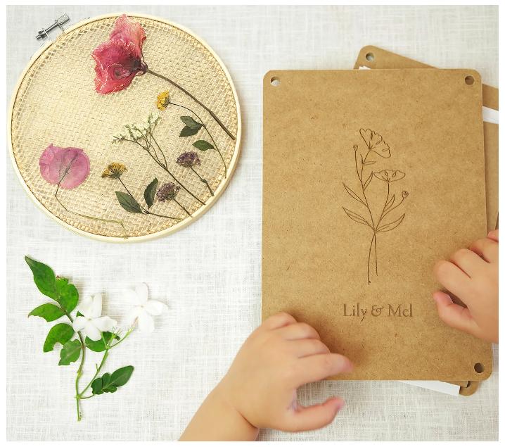 Kit para prensar flores y crear un bastidor