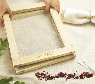 Kit para hacer papel reciclado