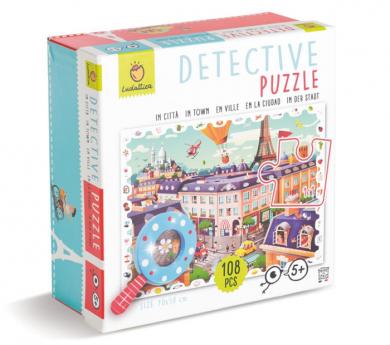 Puzle detective de 108 piezas LA CIUDAD