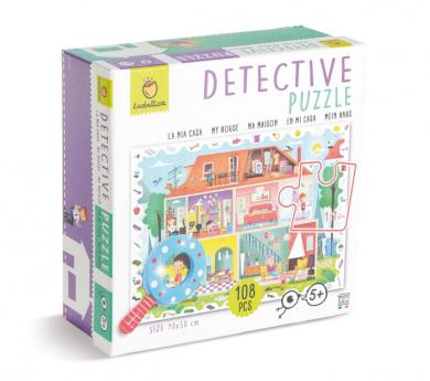 Puzle detective de 108 piezas EN CASA
