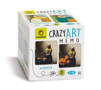 Juego de memoria CRAZY ART