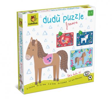 3 puzles con marco de 2, 3 y 4 piezas - La Granja