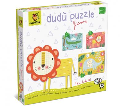 3 puzles con marco de 2, 3 y 4 piezas - SAFARI