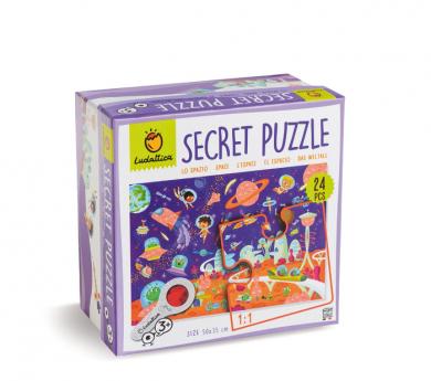 Puzle secreto 24 piezas EL ESPACIO