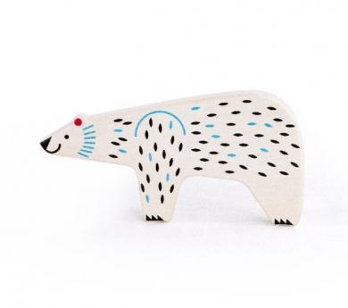 Ós polar de fusta