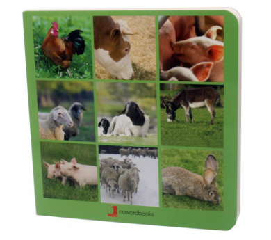 Libro de imágenes LOS ANIMALES DE LA GRANJA