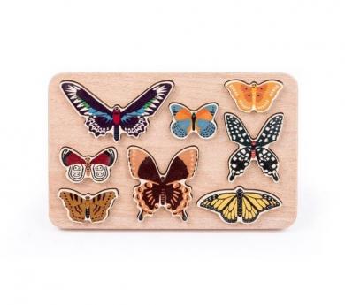Joc d'encaixos papallones