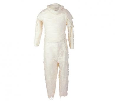 Disfraz de momia con pantalón