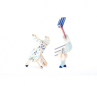 Puzle 3D criaturas míticas - Pegaso