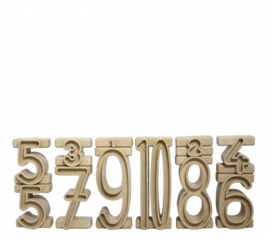 Nombres tipus SUMBLOX 34 peces