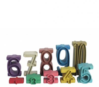 Nombres tipus SUMBLOX colores Montessori 34 peces