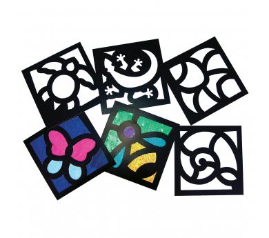 Crea cuadros con papel de seda