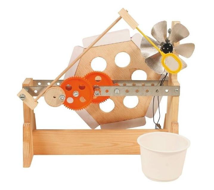 Construye una máquina para hacer pompas de jabón