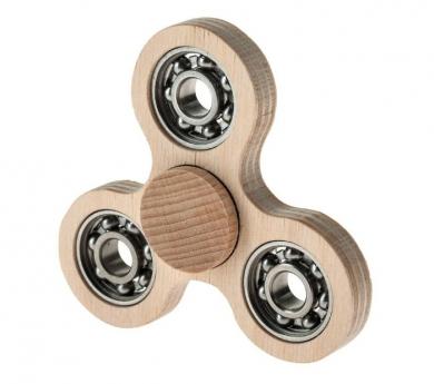 Construeix un spinner de fusta
