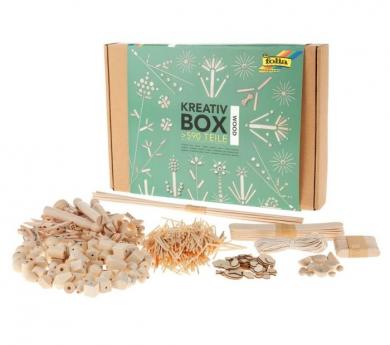 Caja de manualidades de madera