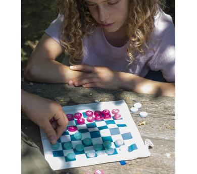 Juego de viaje 3 en 1: ajedrez + damas + 3 en raya