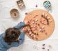 36 piezas sueltas para mandala piña