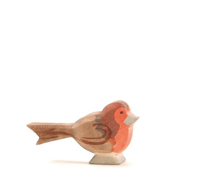 Figura de madera Ostheimer - Petirojo