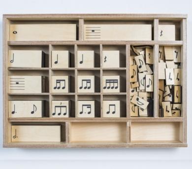 Musi·Rhythms – Juego Montessori de figuras rítmicas (135 piezas)