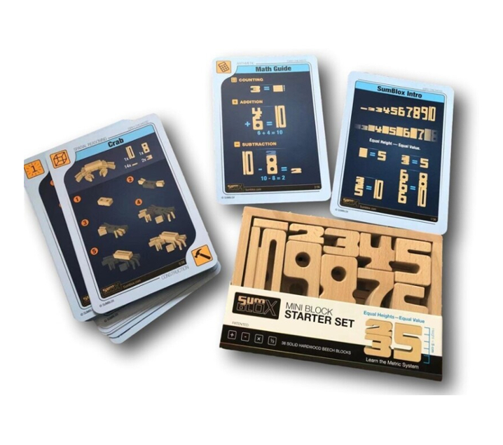MINI SUMBLOX 38 piezas más fichas