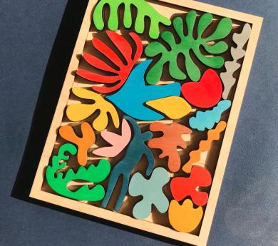 Puzle y piezas de juego Matisse