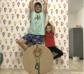 Juego de madera con posturas de Yoga